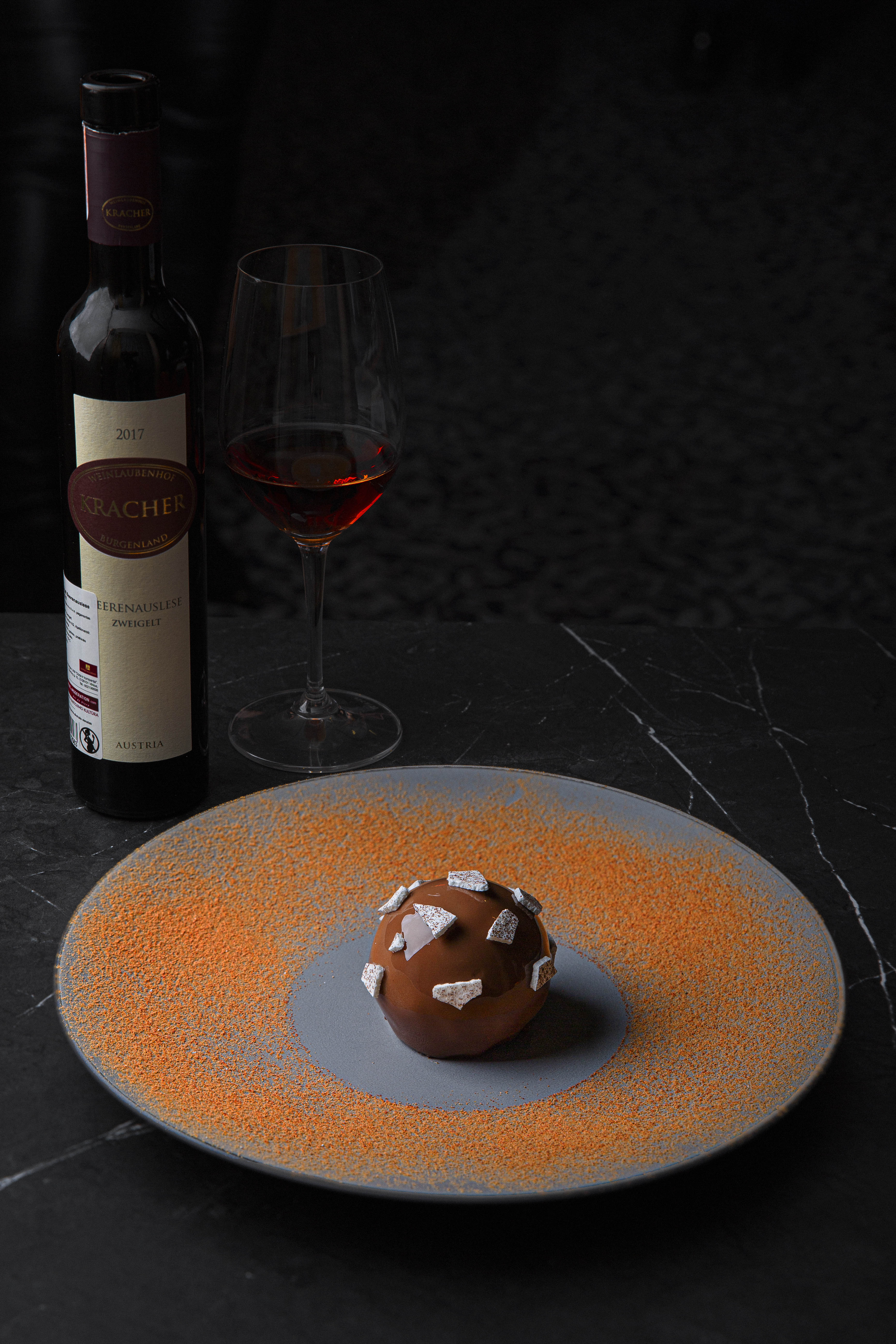 Dine Chocolate mousse Wine and Dessert 2019
