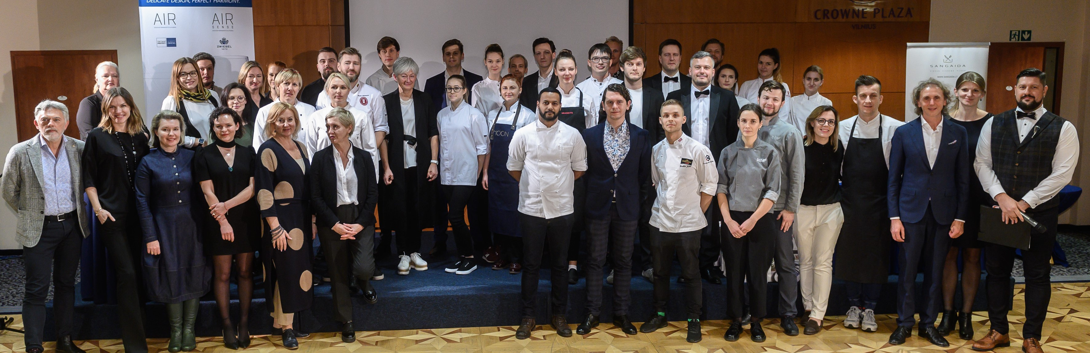 Wine and Dessert 2019 participants and jury members